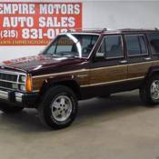 1989 jeep wagoneer limited 1989 jeep wagoneer limited 4dr wagon 4wd 80246 miles blue 4 0l a for