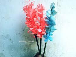 membuat hiasan bunga dari kertas lipat colorful lavender membuat bunga lavender dari kertas bintangtop