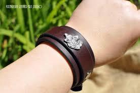 bracelet handmade leather images Handmade leather bracelets by kazakhsha leather art studio jpg