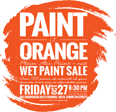 paint it orange paint sale orange co arts commission