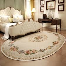 tapis pour chambre pastorale ovale tapis pour la maison salon chambre tapis et tapis