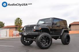 matte grey jeep wrangler 2 door 22 fuel wheels d531 hostage matte black rims 6 rough country