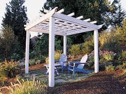 Backyard Gazebo How To Build A Backyard Pergola Sunset