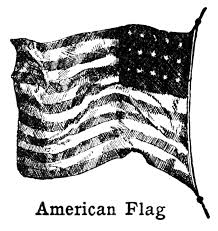 American Samoan Flag Vintage American Flag Clipart Black And White Clipground