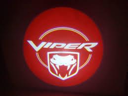 dodge viper logo dodge viper door projector courtesy puddle logo light
