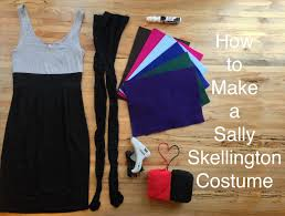 inexpensive homemade halloween costumes for adults how to make a sally skellington costume sally skellington sally