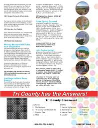 Out Of Comfort Zone Activities Tri County Comfort Zone Magazine 2015 Suncoast Fl Ac Company