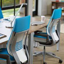 light blue desk chair steelcase gesture office chair