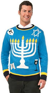 channukah sweater chanukah sweater chanukah menorah outrageous tacky