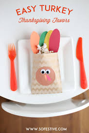 thanksgiving turkey favors for table ideas so festive