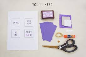 Will You Be My Maid Of Honor Gift Diy