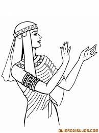 imagenes egipcias para imprimir mujer egipcia