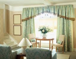Curtains With Green Charming Pale Green Modern Curtains With Valance For Living Room