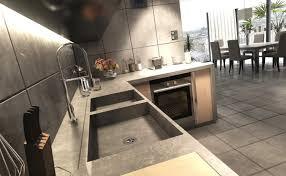cuisine beton la cuisine béton plan de travail suprabéton balian beton atelier