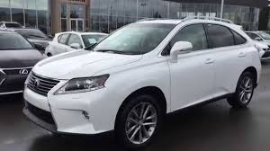lexus rx 350 price 2015 2015 lexus rx 350 awd sportdesign edition review white on