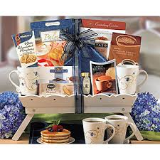 breakfast gift baskets send breakfast in bed gift basket exclusive gift basket gifts to
