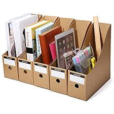 Desk Organizer Box Amazon Com Tianse File Magazine Holder Desk Storage Organizer