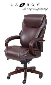 Leather Desk Chair by Amazon Com La Z Boy Hyland Executive Bonded Leather Office Chair