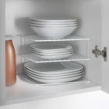 kitchen cupboard storage ideas dunelm metaltex silos corner plate rack plateracks metaltex silos