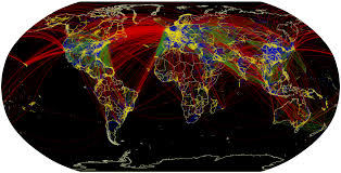 Airline Route Maps by Flight Routes Map James U0027 Geo Blog