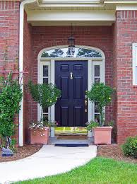 popular of painted residential front doors with cool ways to paint