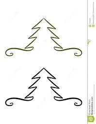 christmas trees drawings christmas lights decoration