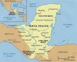 map of mexico yucatan region cenotes ruins the yucatan peninsula mexico wandering also