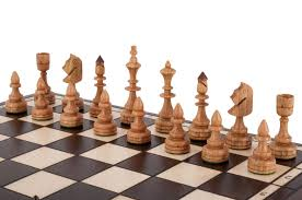 the small indian chess set house of staunton
