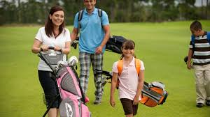 play golf with your family during family golf month