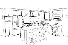 plans cuisine conception de plans sur mesure armoires de cuisine portes et