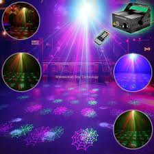 halloween laser light show eshiny blue led r g laser 12 halloween patterns projector club bar