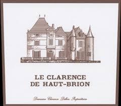 second wine le clarence de haut brion second wine of château haut brion