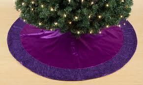 stunning decoration purple christmas tree skirt 357 best skirts