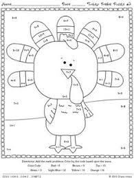 thanksgiving math worksheets pdf 10 pages thanksgiving math