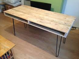 pallet computer table and office desk pallet furniture diy