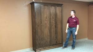 Murphy Bed Jefferson Library Templeton Arch Top Murphy Bed Youtube