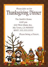 thanksgiving dinner invitation diy printable invites