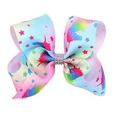 ribbon hair clip bodhi2000 unicorn hair bows kids alligator clip