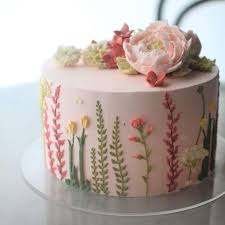 best 25 floral cake ideas on pinterest flower cakes pretty
