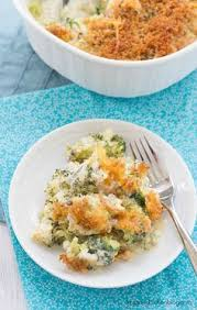 broccoli casserole from scratch made completely from scratch