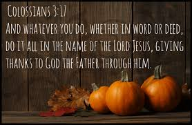 week 3 a month of giving thanks what are our guests thankful