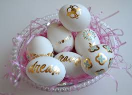 fancy easter eggs easter eggs w fancy tats metallic tattoos amanda zelli