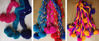 paranda hair accessory parandi craft punjab india gaatha ग थ handicrafts