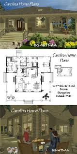 Bungalow House Plans With Front Porch 76 Best House Plans With Porches Images On Pinterest Screened