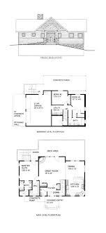hillside cabin plans 49 best hillside home plans images on house floor