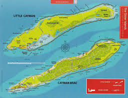 Map Of Cayman Islands Odonata Caymannature
