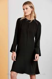 black next tailored dress last minute september holidays women