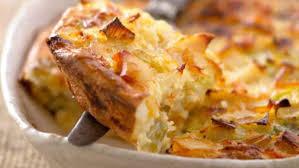 recette de cuisine en photo gratin de poireaux facile et pas cher recette sur cuisine actuelle