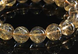 quartz crystal bracelet beads images Imore rakuten global market rutile quartz bracelet 13 2mm jpg