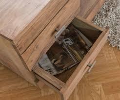 Wohnzimmertisch Akazie Couchtisch Guru 90x90 Akazie Stone 2 Schübe By Wolf Möbel Tische